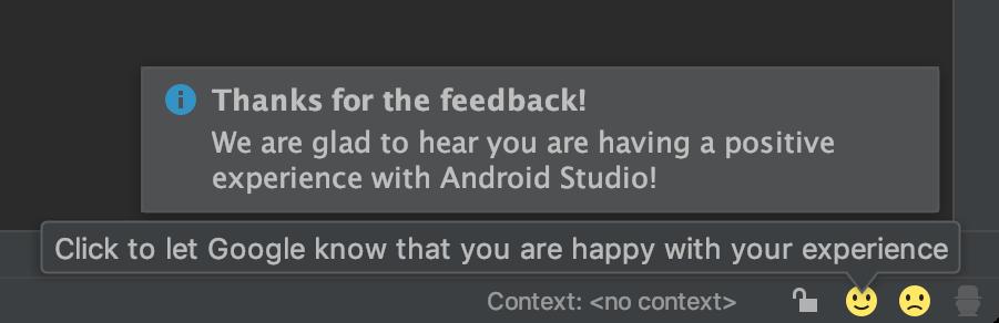 Đã có Android Studio 3.3, mời bạn tải về 6