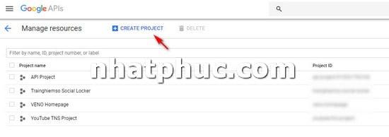 Cách lấy YouTube API để gắn vào trang web khi cần 2