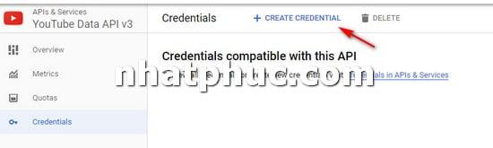 Cách lấy YouTube API để gắn vào trang web khi cần 5