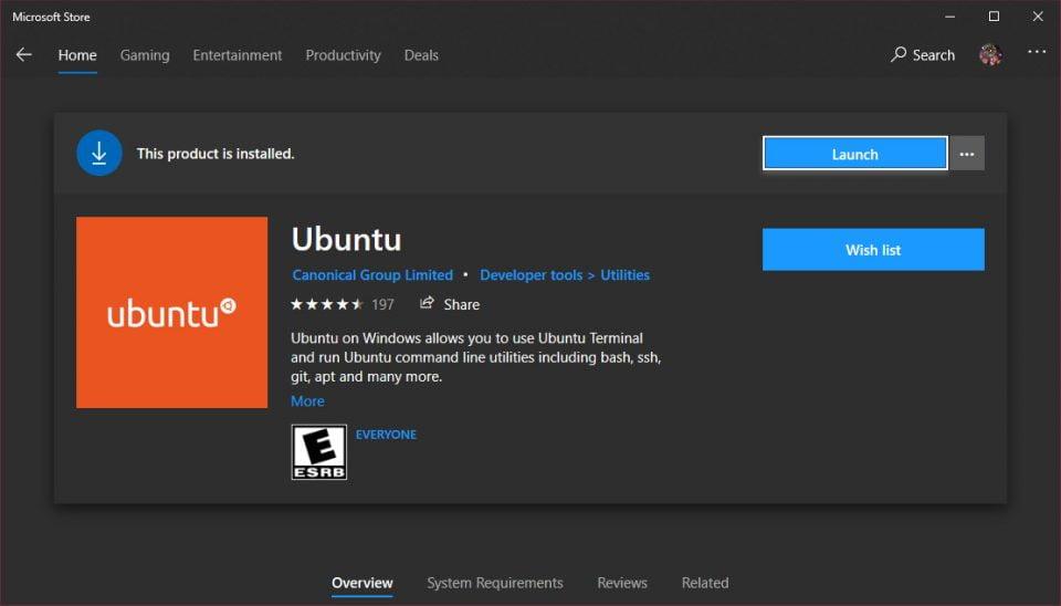 Cách cài và sử dụng Linux Bash Shell trên Windows 10 3