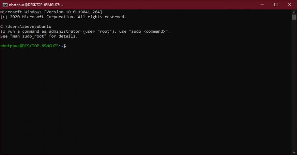 Cách cài và sử dụng Linux Bash Shell trên Windows 10 7