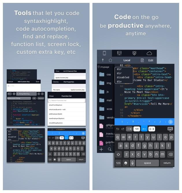 Bạn muốn code trực tiếp trên iPhone: quá dễ! 6