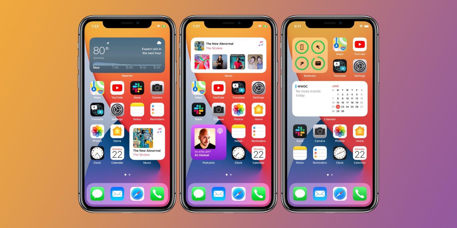 Cách thêm lịch âm vào widget iOS 14 không cần cài thêm gì 1