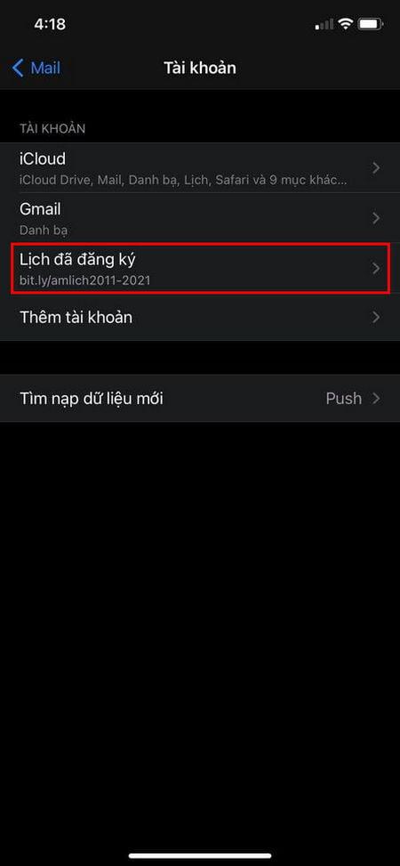 Xem lịch âm trên widget iOS 14
