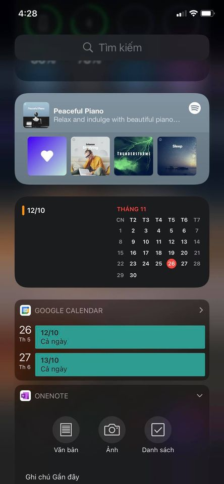 Cách thêm lịch âm vào widget iOS 14 không cần cài thêm gì 3