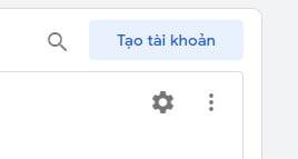 Tạo tài khoản Google Tag Manager