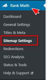 Cách định cấu hình sitemap trên Rank Math SEO 16