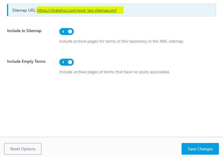 Cách định cấu hình sitemap trên Rank Math SEO 22