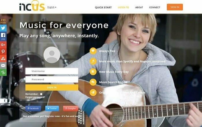 Incus Tunes