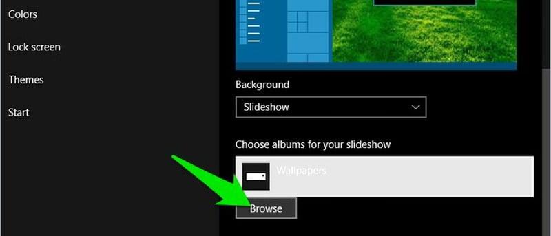 Cách thay đổi hình nền tự động trên Windows 10