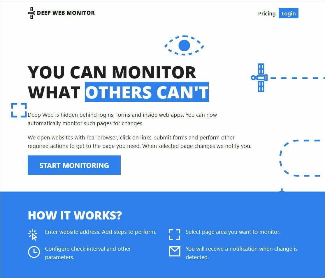 DeepWebMonitor