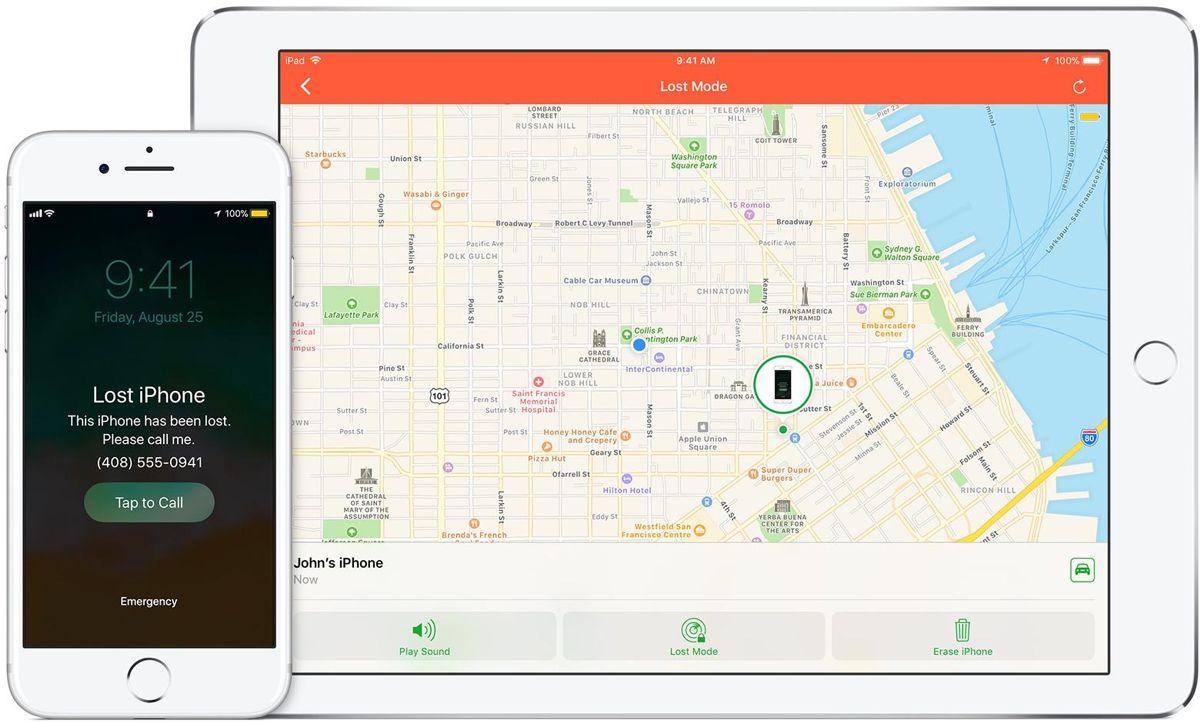 Thiết lập tùy chọn theo dõi và xóa từ xa trên iOS