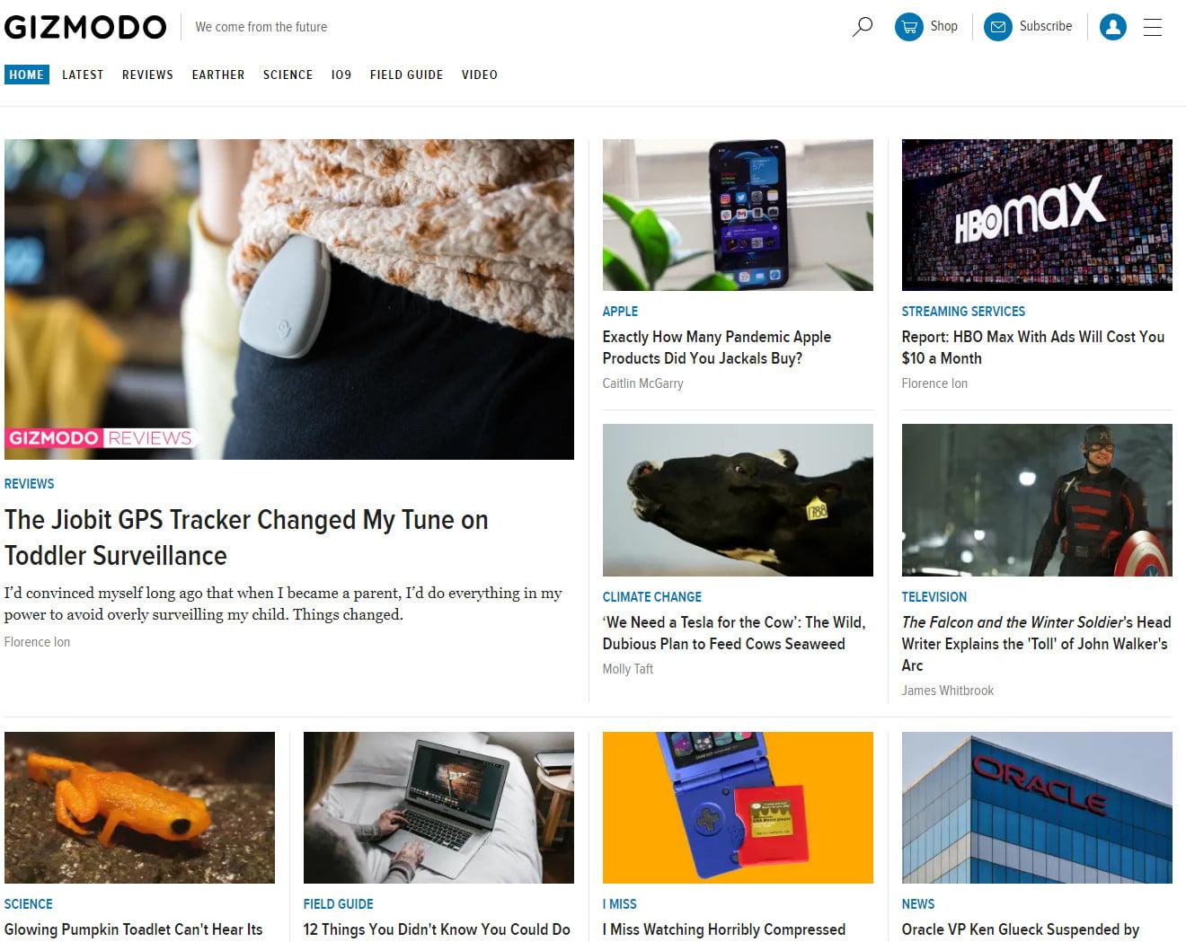 10 trang web công nghệ nước ngoài bạn nên đọc 10