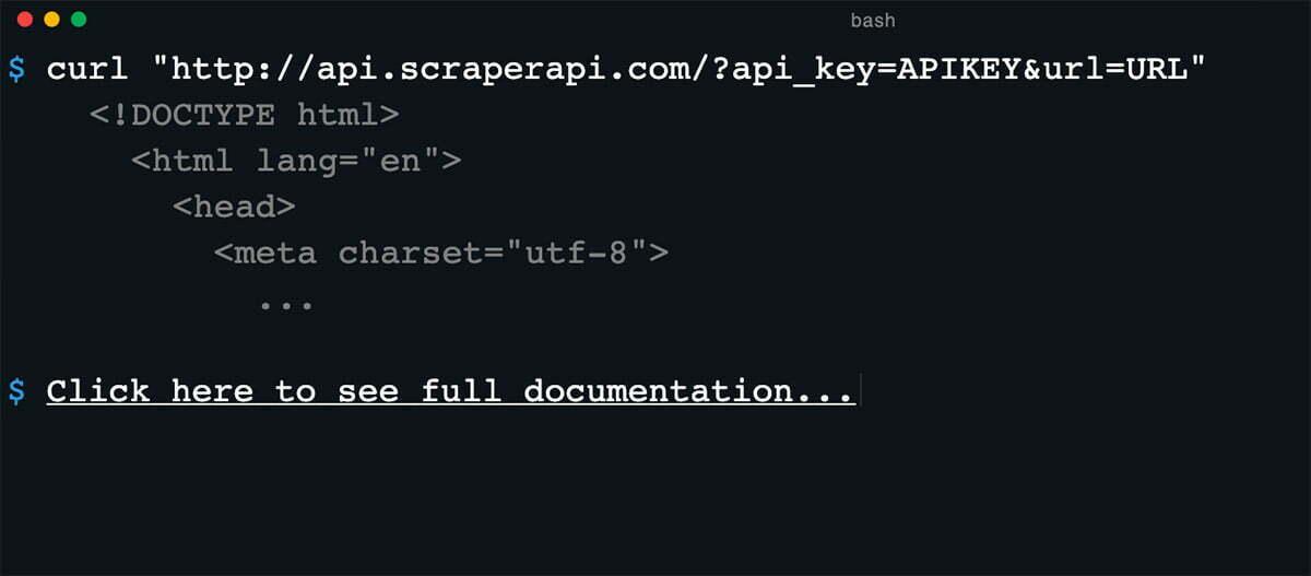 Scaper API