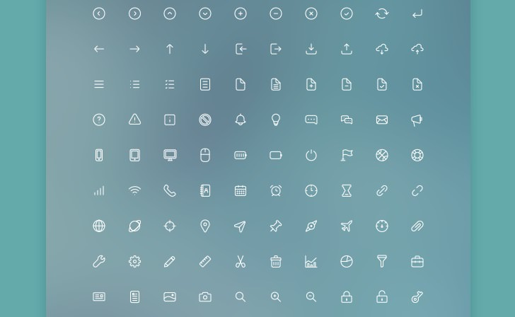 Tải xuống các bộ icon miễn phí 2