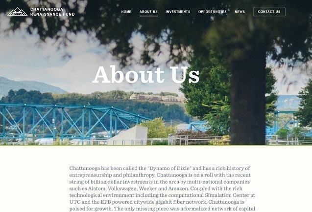 Trang Giới thiệu về Quỹ Phục hưng Chattanooga