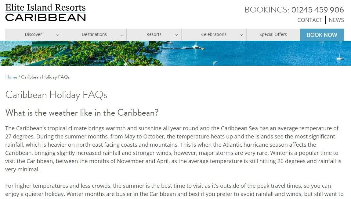 Câu hỏi thường gặp về Elite Island Resorts