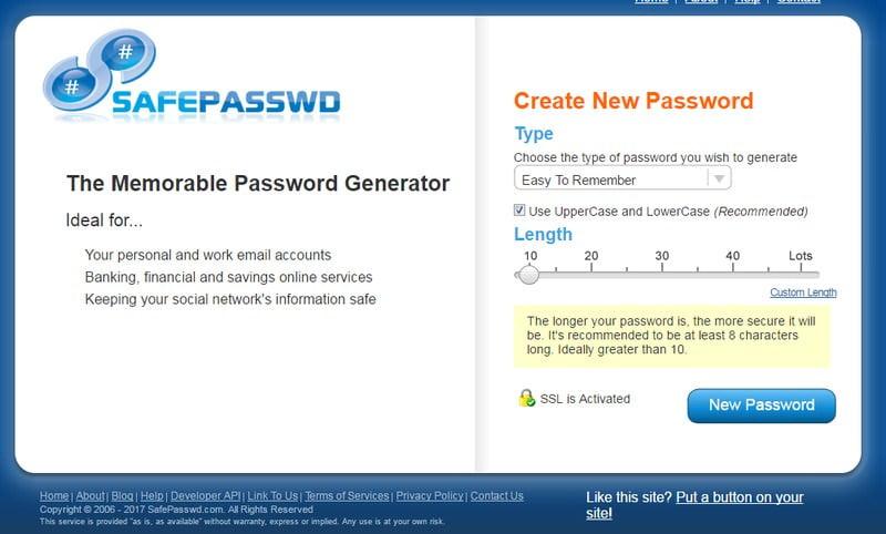 mật khẩu an toàn