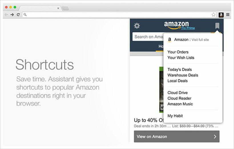 Trợ lý Amazon dành cho Firefox