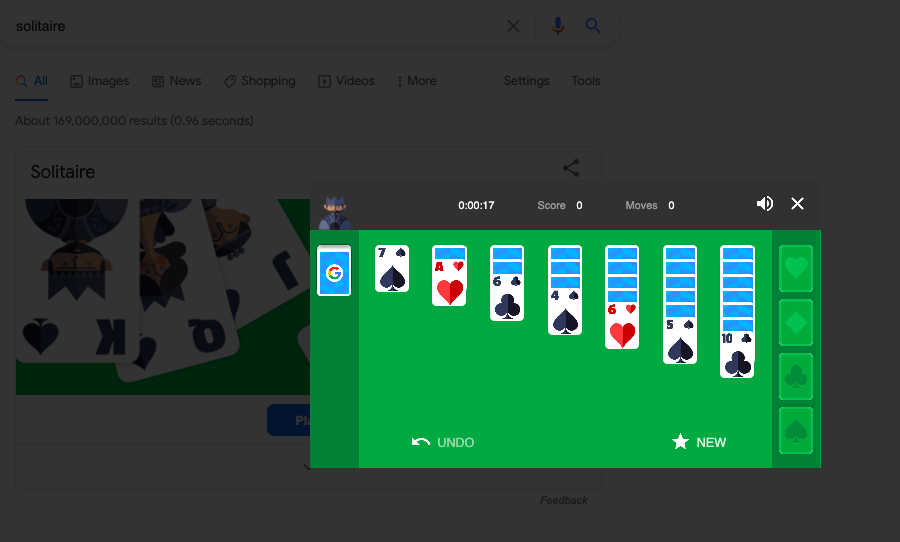 28. Solitaire Easter Egg