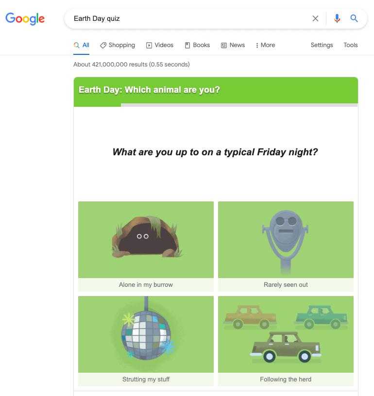 51. Earth Day Quiz