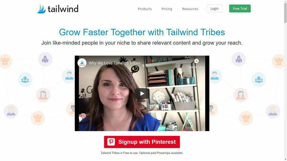Tailwind Tribes là một công cụ để xây dựng và phát triển cộng đồng