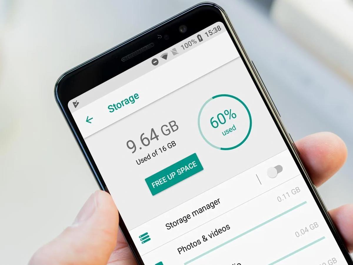 5 cách tối ưu không gian lưu trữ trên smartphone 1