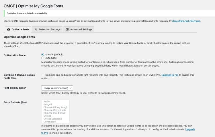 Host Google Fonts