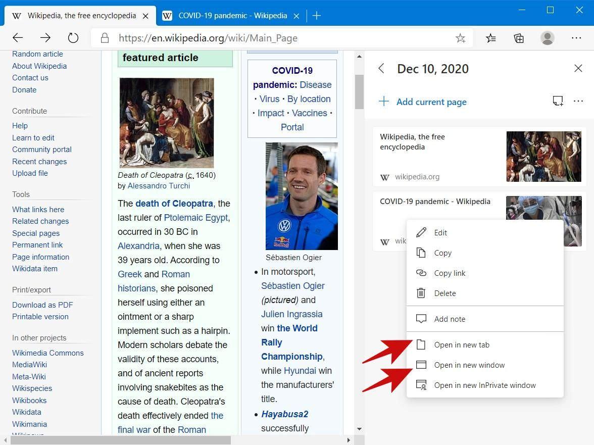 Cách sử dụng Collections trên Microsoft Edge 2