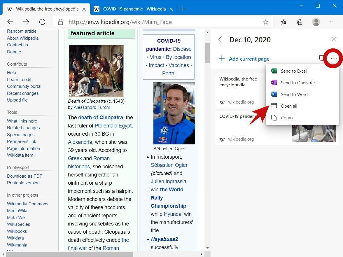 Cách sử dụng Collections trên Microsoft Edge 3