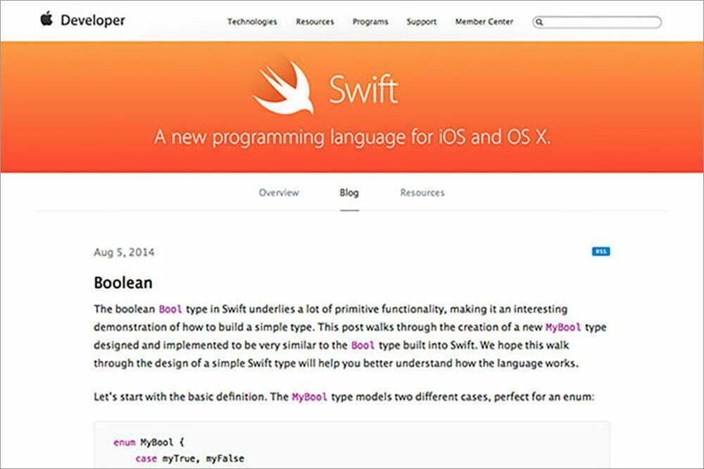 The Swift Blog