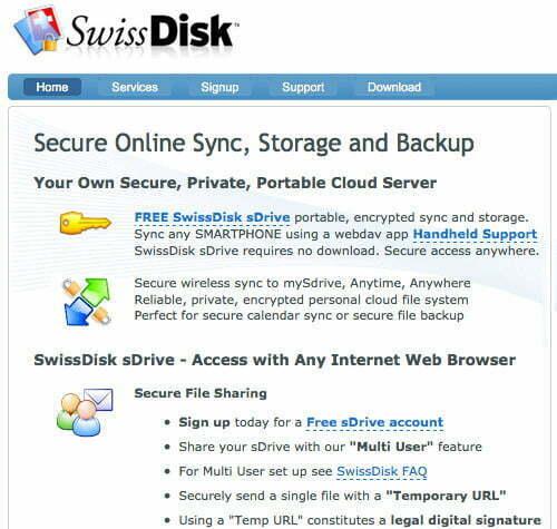 SwissDisk