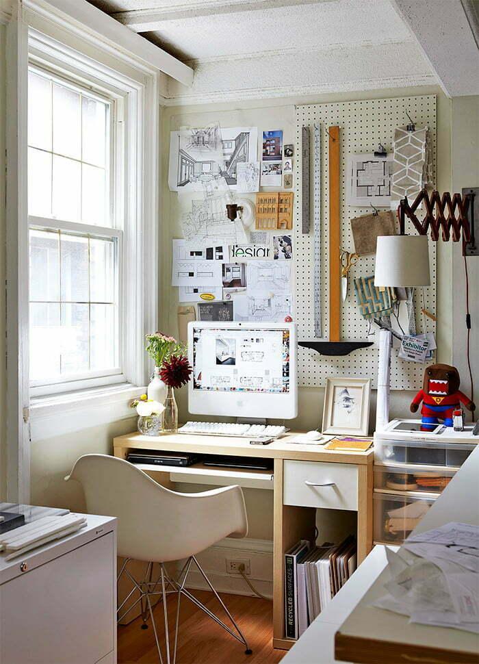ý tưởng không gian làm việc gọn gàng