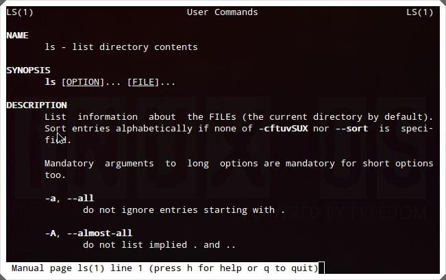 lệnh linux
