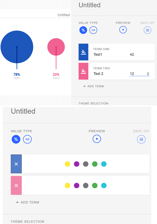 Data GIF Maker - Công cụ tạo biểu đồ động của Google 4