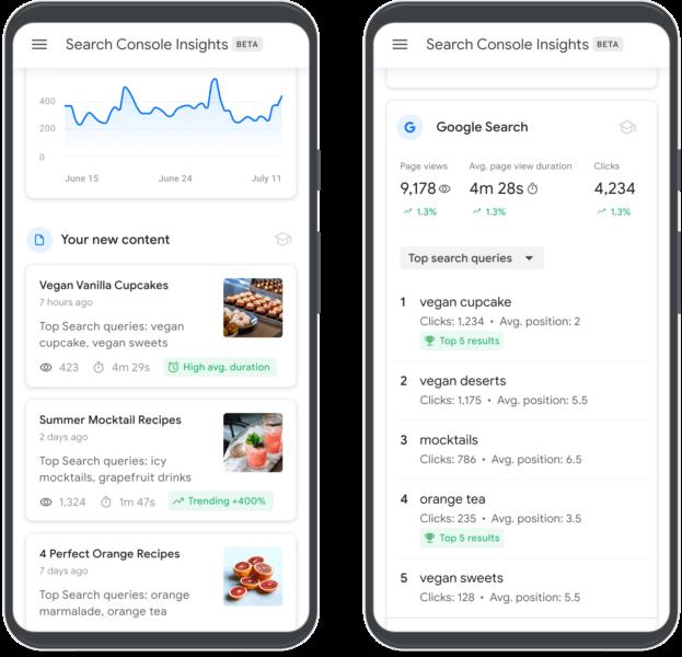 https://search.google.com/search-console/insights