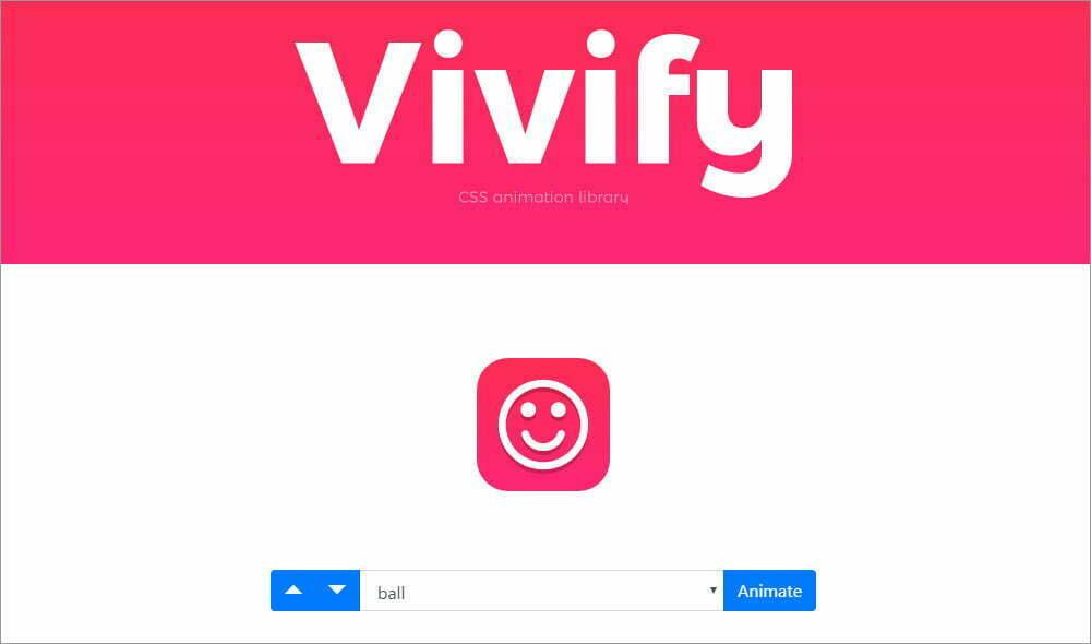 Vivify - Thư viện animation CSS độc đáo 1