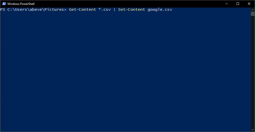 Cách nối nhanh nhiều tệp văn bản bằng CMD 4