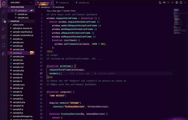 Chủ đề VS Code Fortnith