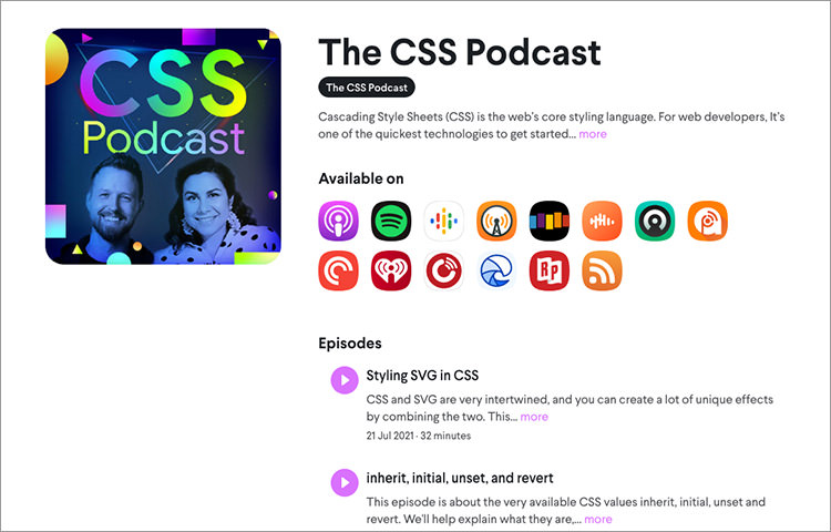 CSS Podcast