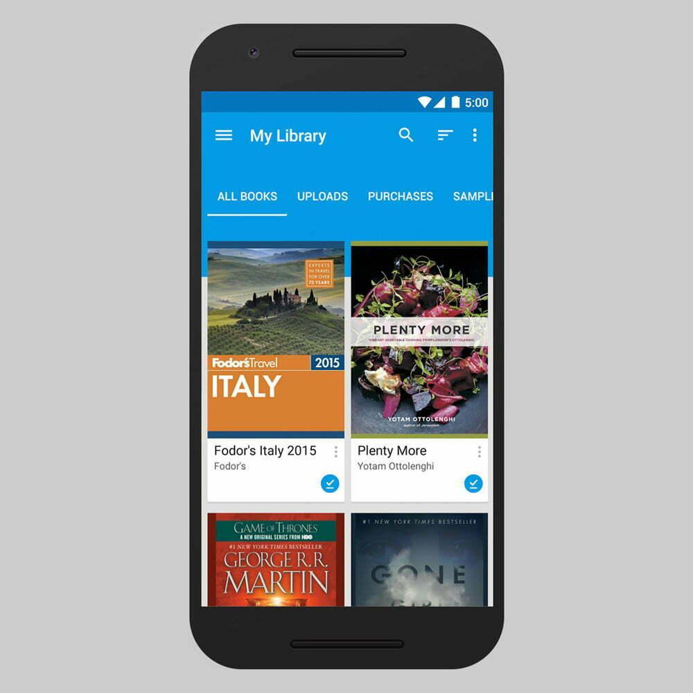 Sách trên Google Play